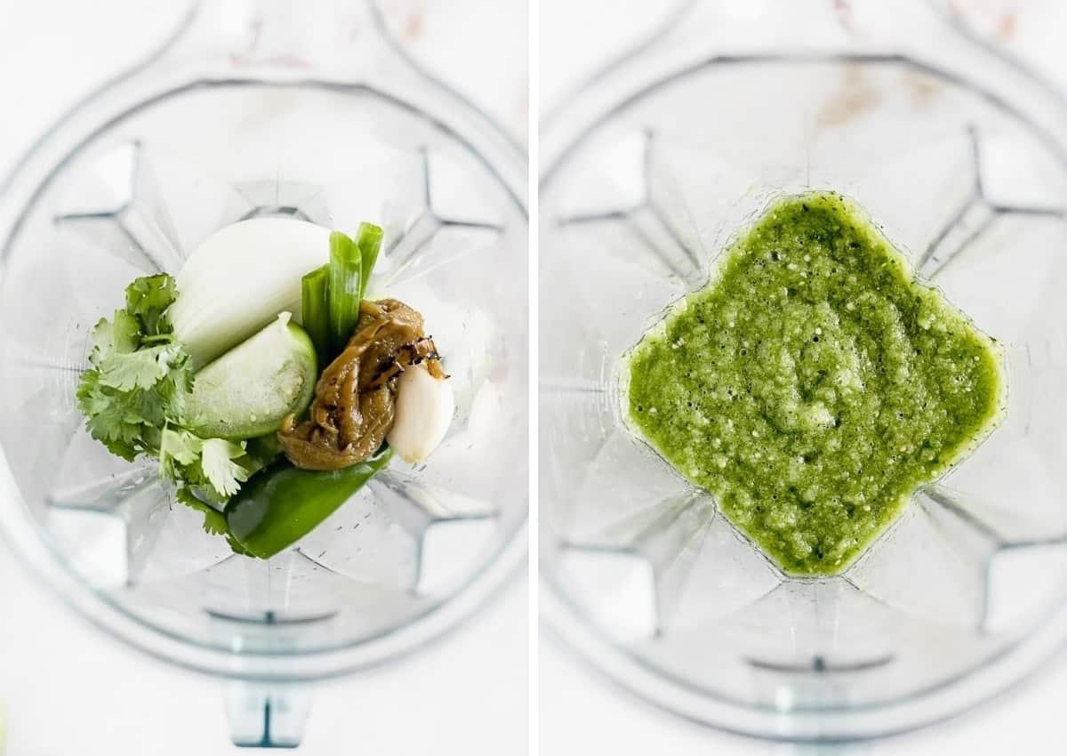 ¡Hatch Chile Salsa Verde es una forma deliciosa de usar chiles hatch y de darle vida a cualquier platillo mexicano!  a través de livelytable.com