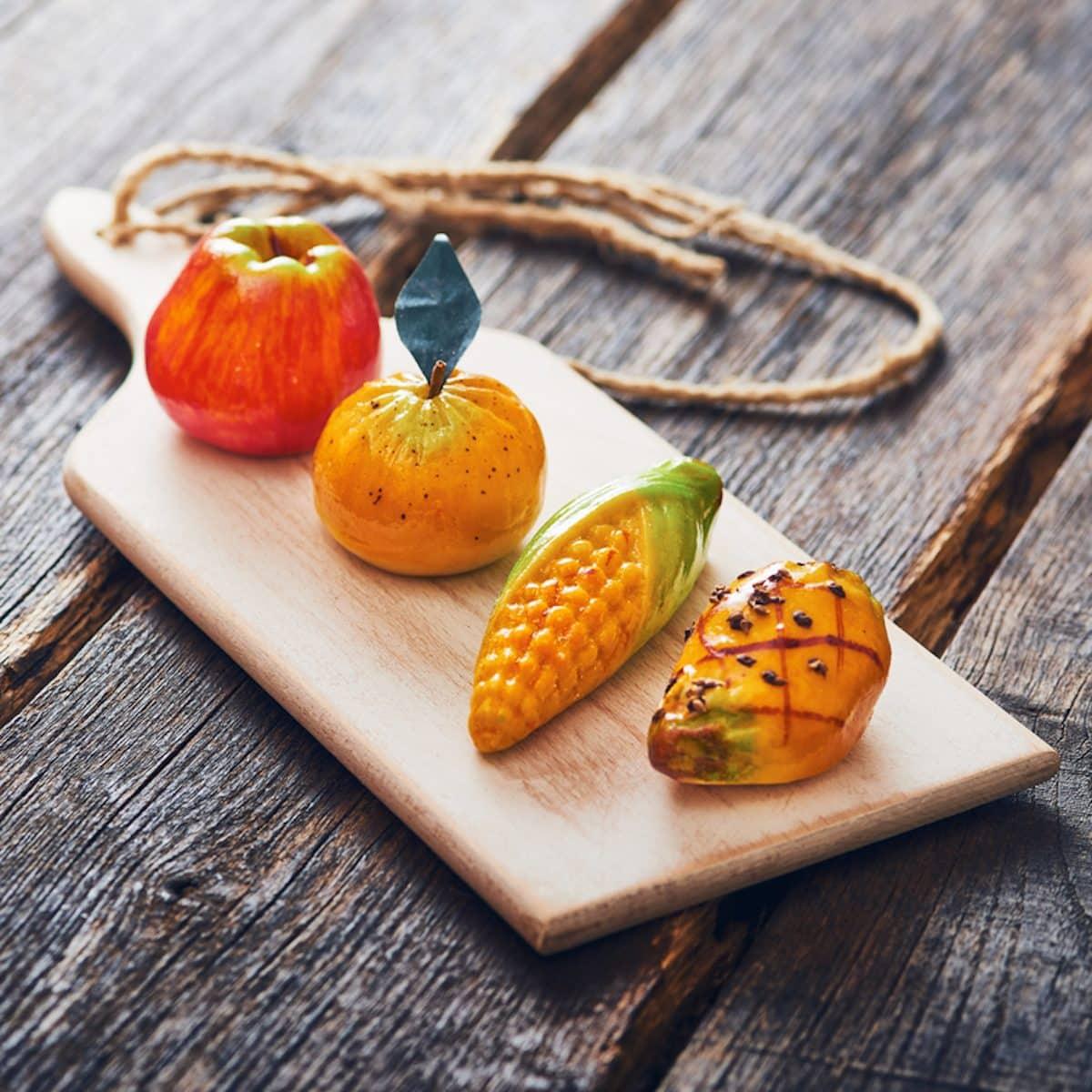 fruta de mazapán